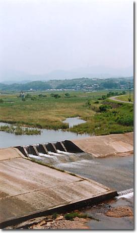 大行事井堰