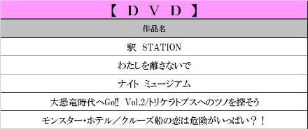 5月DVD