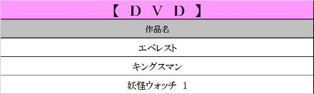 6月DVD