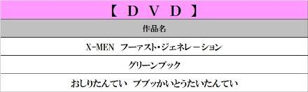 3月DVD