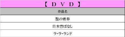 10月DVD